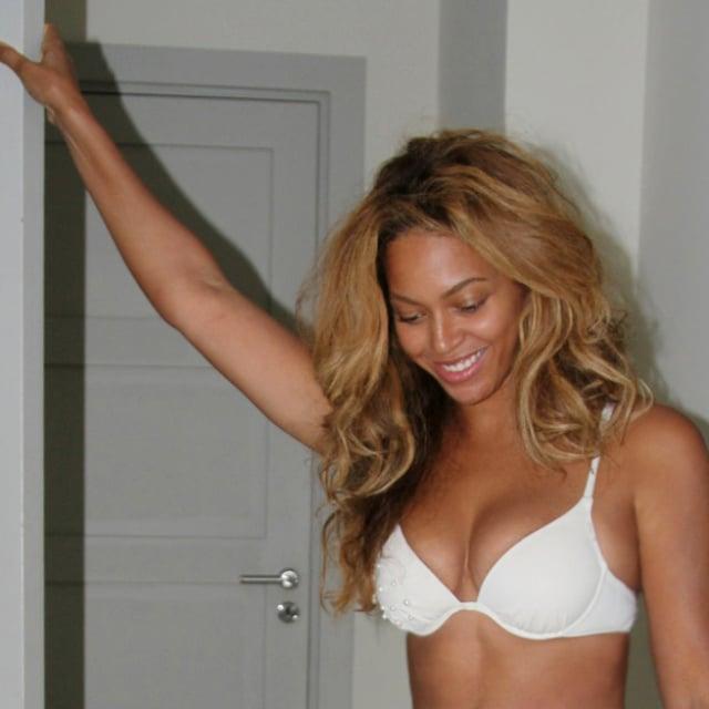 Beyonce knowles in a bikini