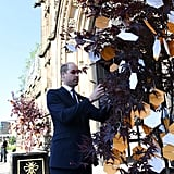 Prince William at Manchester Arena National Service May 2018