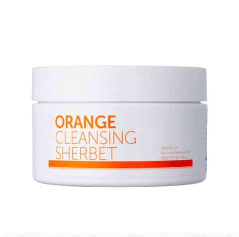 Peach and Lily's Orange Cleansing Sherbet