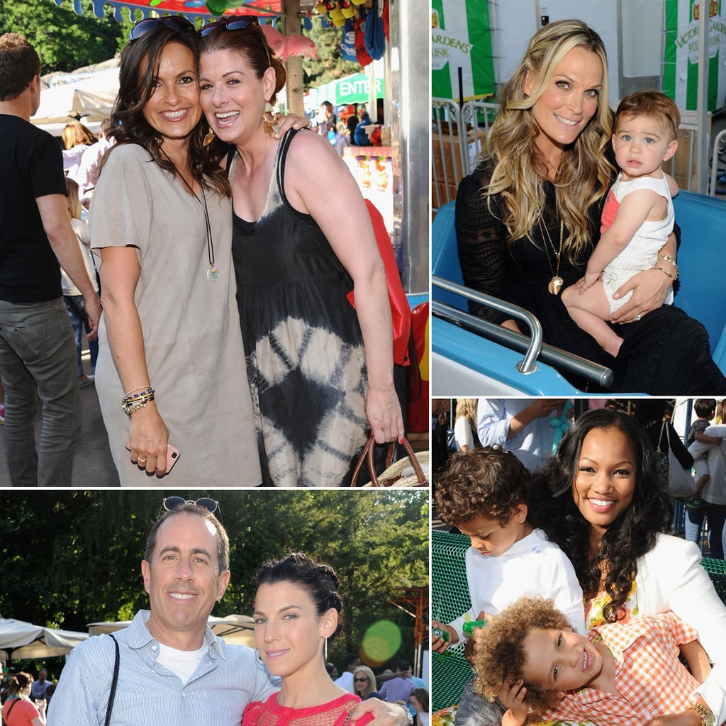 Celebrities and Kids at Baby Buggy Bedtime Bash