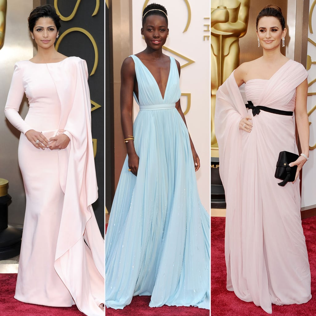 Pastel Dress Trend at Oscars 2014