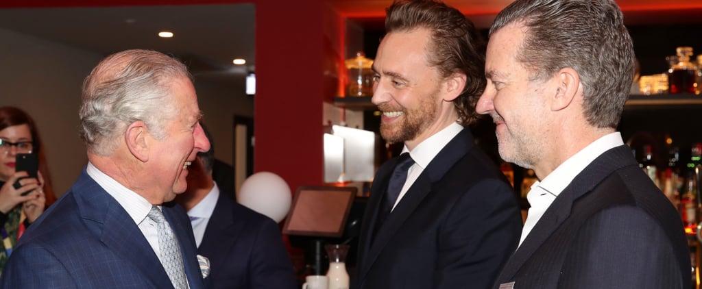 Prince Charles Meets British Actors at the BFI December 2018
