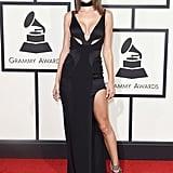 Alessandra Ambrosio at the Grammys