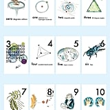 Nerdy Baby Number Poster