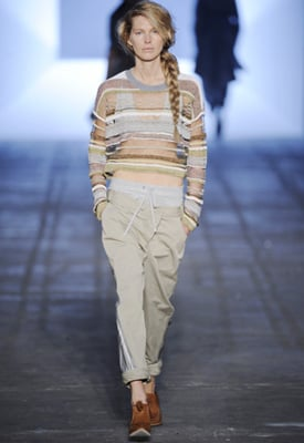 Grey Sweat Pants for Spring 2010
