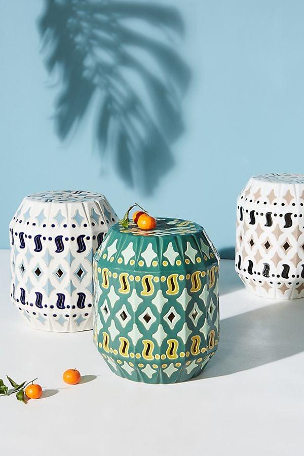 Solomon Ceramic Indoor/Outdoor Side Tables