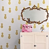This wallpaper is perfect to decorate your room. Pineapple Wall Arts (Set of 2) ($30)