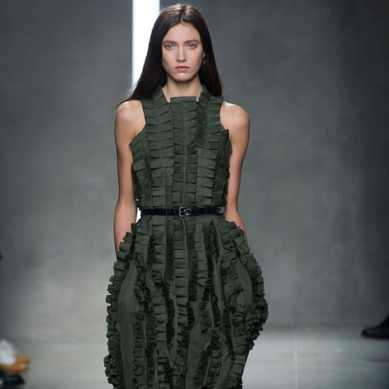 Bottega Veneta Spring 2014: Living Sculpture