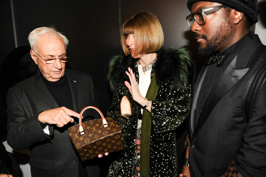 Frank Gehry, Anna Wintour, and will.i.am Hung Onto One of LV's Classics