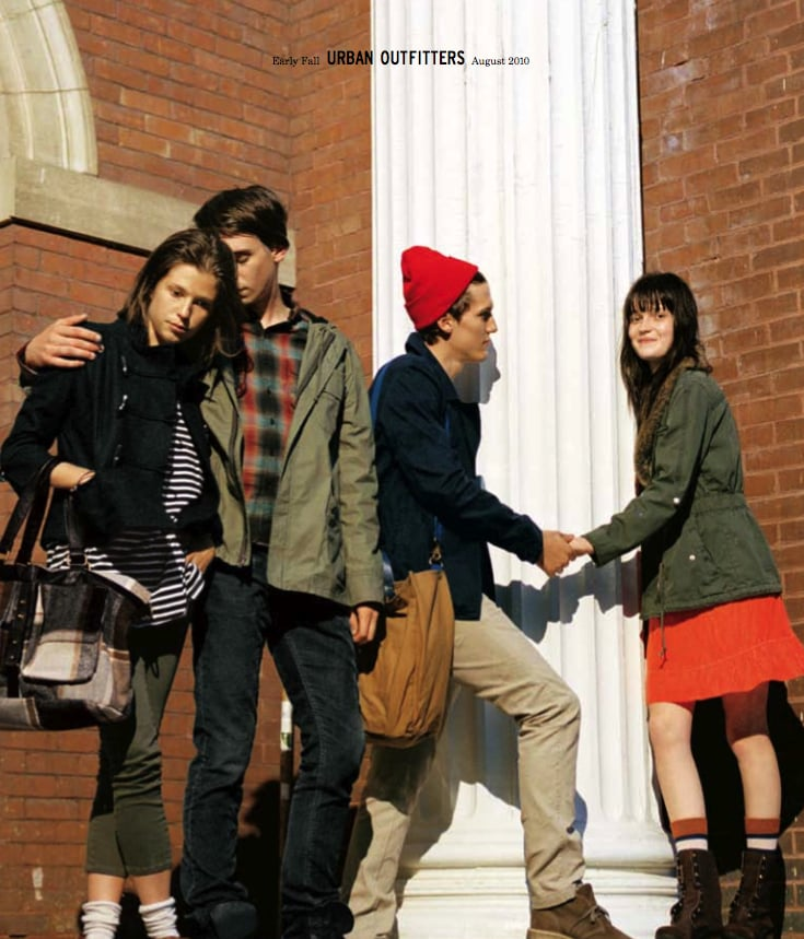 Photos of 2010 Urban Outfitters Early Fall Catalogue