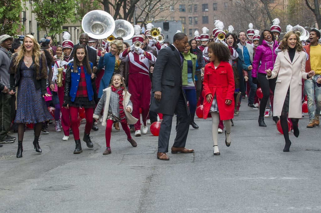 Annie wouldn't be complete without a full-on parade.