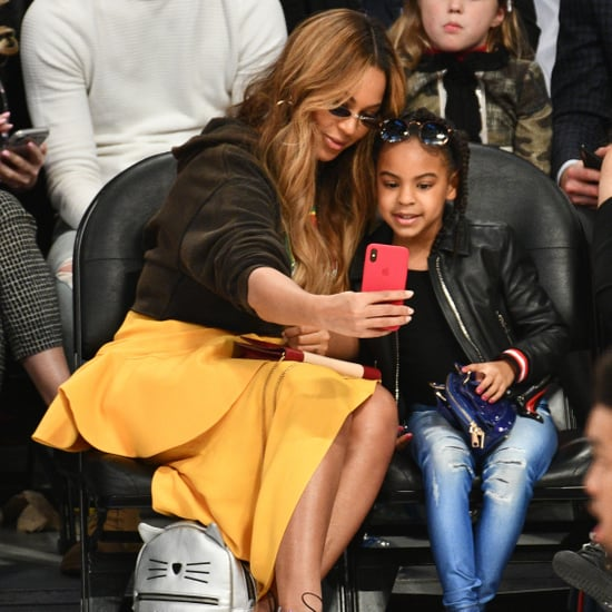 Beyoncé and Blue Ivy at the NBA All-Star Game 2018