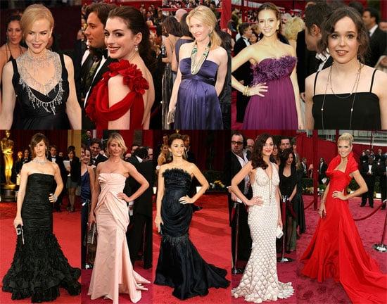 2008 Oscars Red Carpet Dresses - POPSUGAR Celebrity