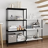 Rackaphile Wire 2-Section Shelving Unit Adjustable Metal Storage Rack