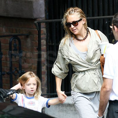 Kate Hudson and Ryder Robinson Leave NYC Apartment