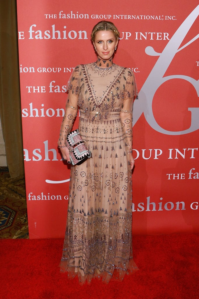 Nicky Hilton Wore the Valentino Gown to the 2016 Fashion Group International Night of Stars Gala
