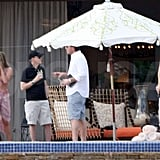 Photos of Jennifer and Gerard in Cabo
