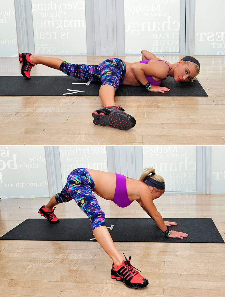 Exercise 4: Press Split Stretch