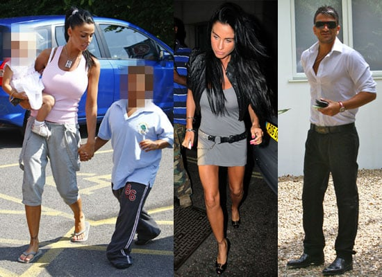 Photos of Jordan Partying and Peter Andre Parking