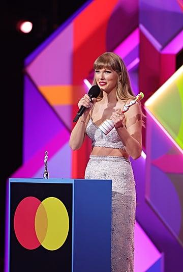 Taylor Swift Wore Miu Miu at the 2021 BRIT Awards
