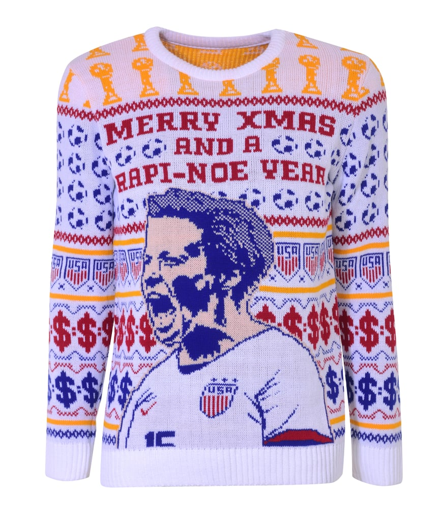 """This Megan Rapinoe Christmas Sweater May Be """"Ugly,"""" but It Supports Beautiful Causes"""