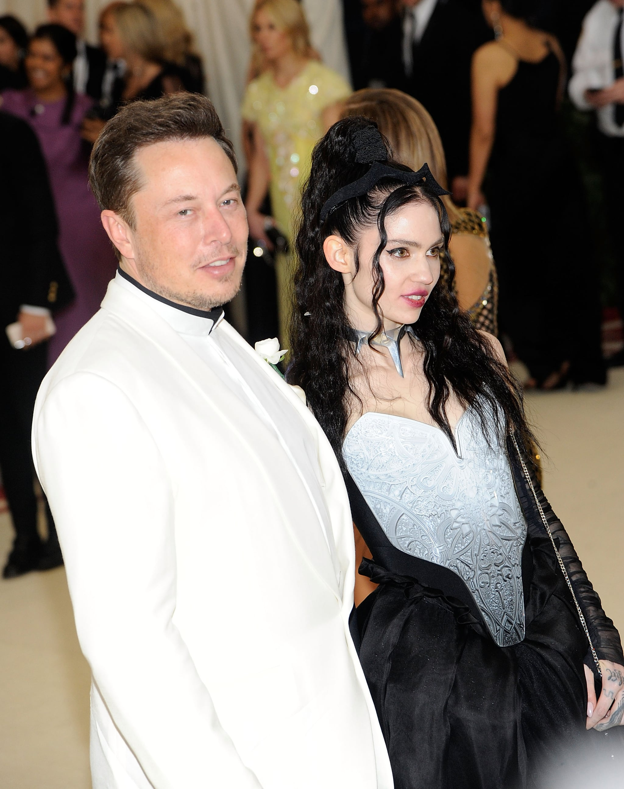 Celebrity & Entertainment | Elon Musk Hits the Met Gala With Grimes