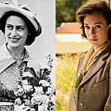 Princess Margaret and Vanessa Kirby