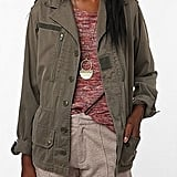 You can brush off the chill in a field jacket. Believe us, the pockets come in handy.  Urban Renewal French Combat Jacket ($59)