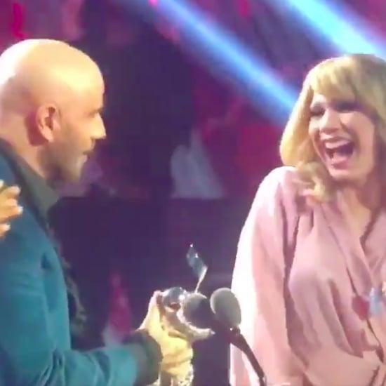 John Travolta Mistakes Jadie Jolie For Taylor Swift at VMAs