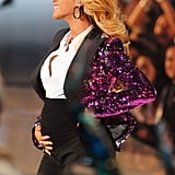 Beyoncé revealed she was pregnant during her performance at the 2011 show.