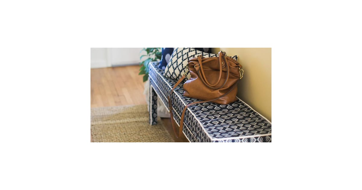 Diy Upholstered Ikea Bench Popsugar Home