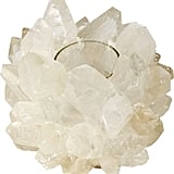 Colorless Quartz Votive ($345)