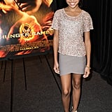 Amandla Stenberg snapped photos at the event.