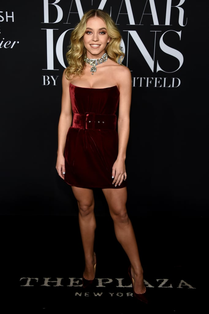 Sydney Sweeney at the Harper's Bazaar ICONS Party During New York Fashion Week
