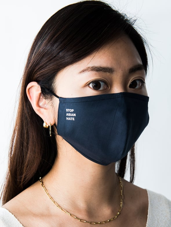 Stop Asian Hate Sustainable Face Masks From Better Off Alone