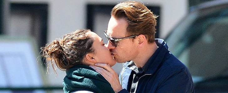 Michael Fassbender Showers His Girlfriend With Sexy PDA