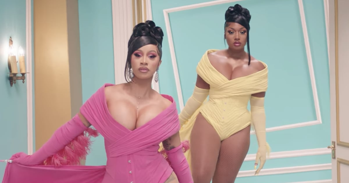 "The Looks in Cardi B and Megan Thee Stallion's ""WAP"" Video Take Sexy Luxe to Another Level"