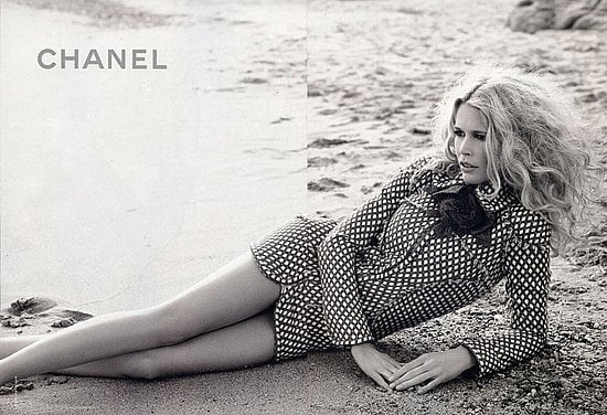 Claudia Schiffer for Chanel