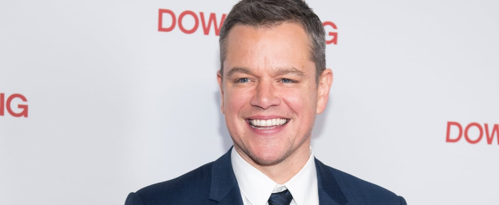 Why Matt Damon Won't Even Let His Kids Open the Free Toys They Receive
