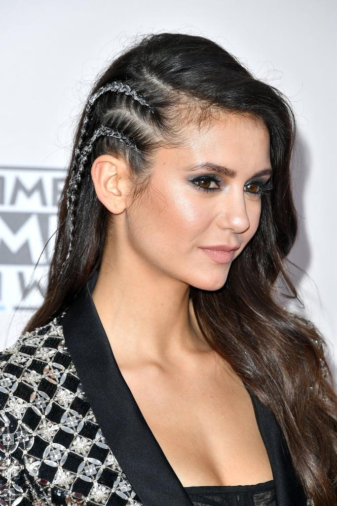 Nina Dobrev Braids Hair American Music Award 2016