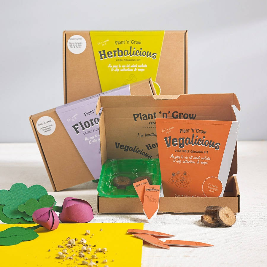 Pick 'n' Mix Grow Your Own Seeds Subscription Box