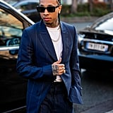 Tyga at the Lanvin Fall 2020 Show