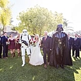 Star Wars-Themed Vineyard Wedding