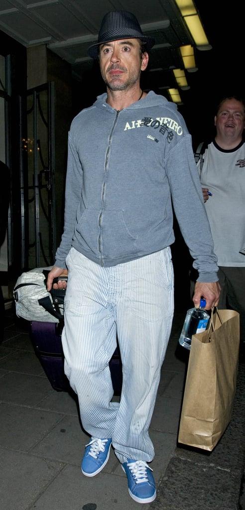 Robert Downey Jr In London