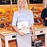 Gwyneth Paltrow promoted her cookbook in NYC.
