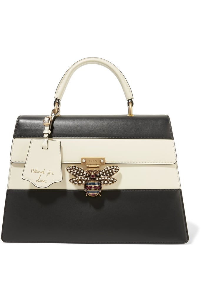 12be87228bf Gucci Queen Margaret Leather Tote