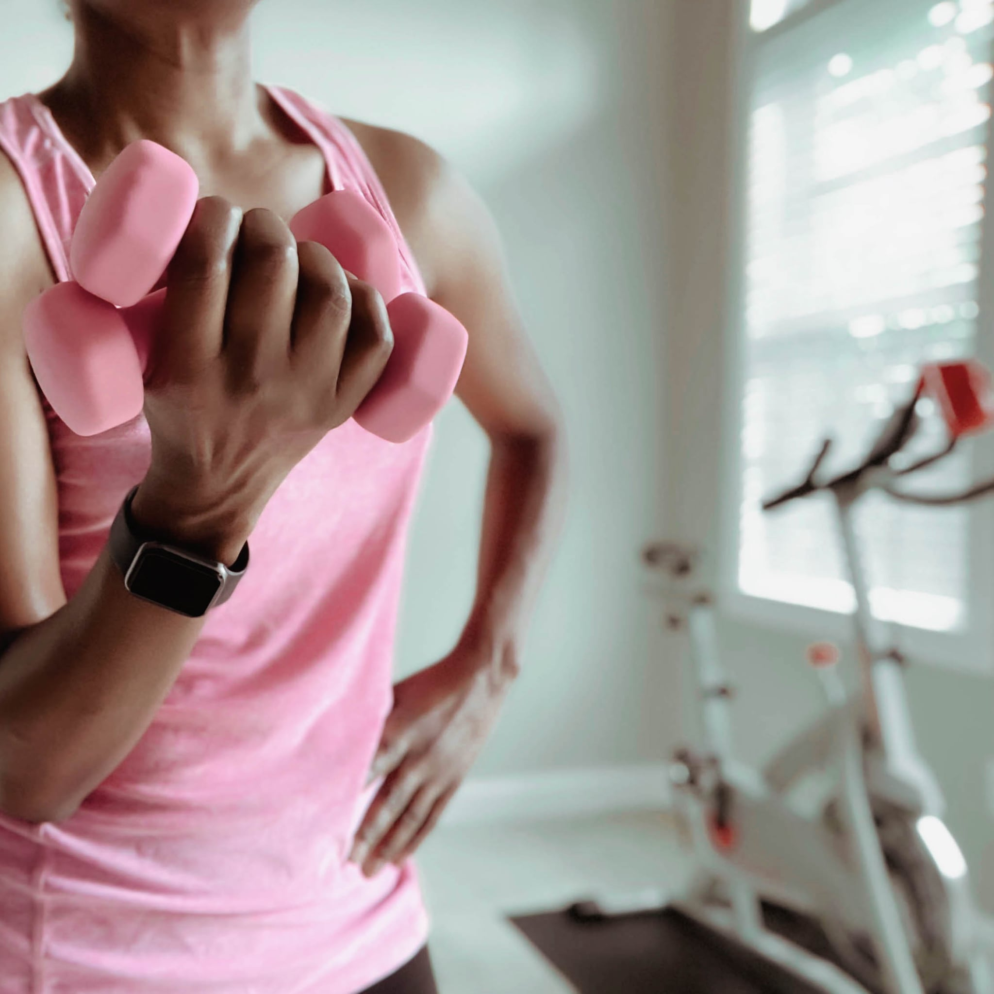 4-Move Arm Circuit For the End of a Cycling Workout