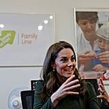 Kate Middleton Visits Family Action January 2019