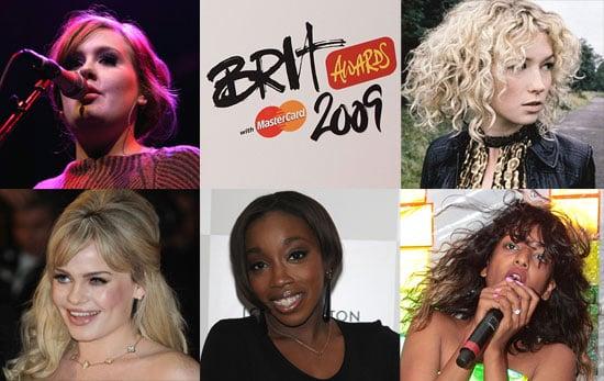 2009 Brit Awards — Best British Female Solo Artist Nominees