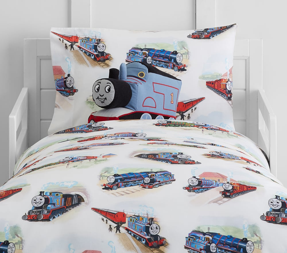 Organic Sheet Set and Duvet. Organic Sheet Set and Duvet   Thomas and Friends Pottery Barn Kids